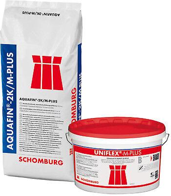 Sonstige Flexible Mineralische Dichtschlämme Schomburg Aquafin 2k/m-plus 7kg Heimwerker