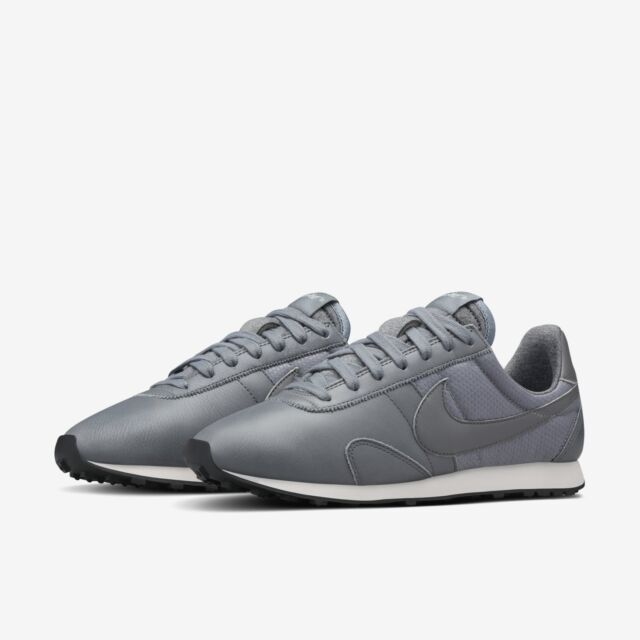 NIKE PRE MONTREAL RACER PINNACLE LEATHER WOMEN'S SHOES SIZE US 5 GREY 839605 002