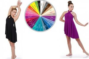 Conversion Dance Costume Ballet Contemporary Convertable Neck Lyrical Clearance