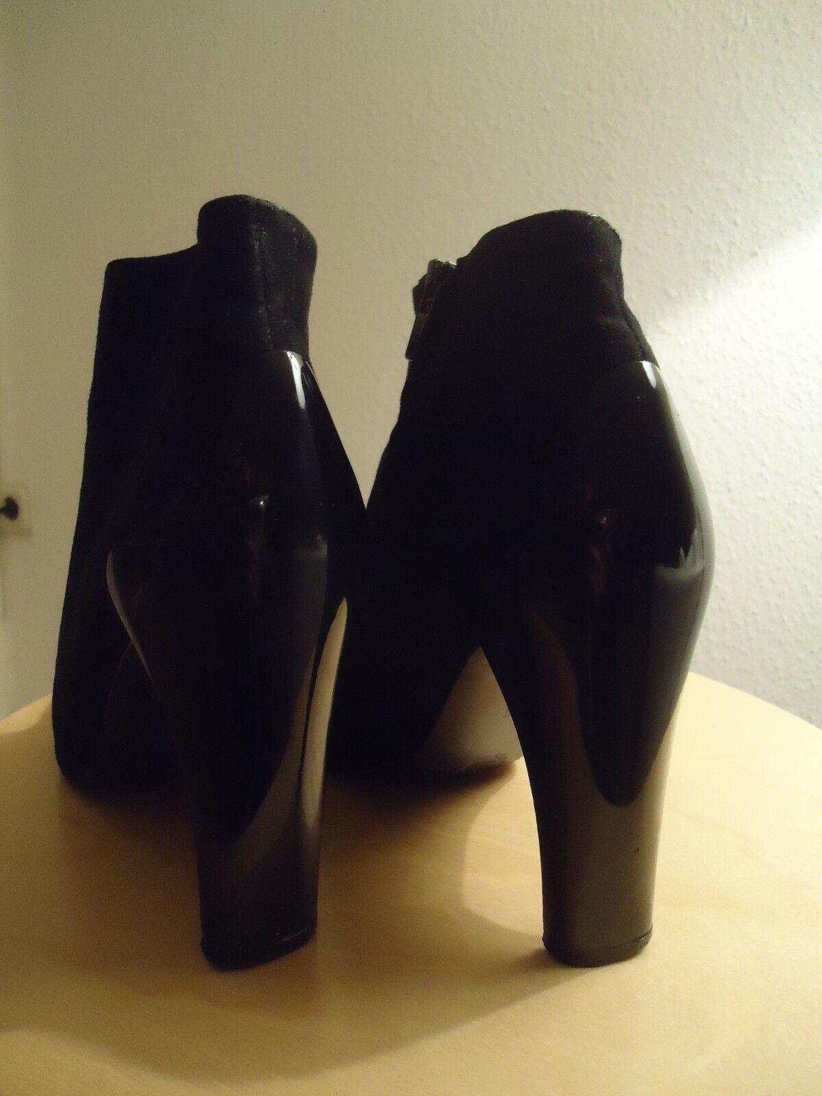 Stephane Kélian Stifeletten Stiefel Stiefel Stiefel Wildleder Schwarz Booits schwarz c8dcd3