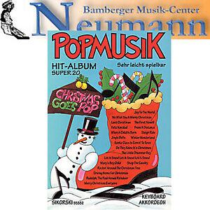 Populäre Weihnachtslieder.Details Zu Popmusik 20 Hit Weihnachtslieder Weihnachten Sikorski Christmas Goes Pop