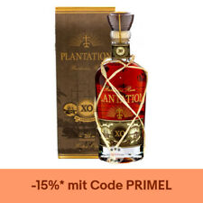 Plantation Rum Barbados XO 20th Anniversary / 40 % Vol. / 0,7 Liter-Flasche