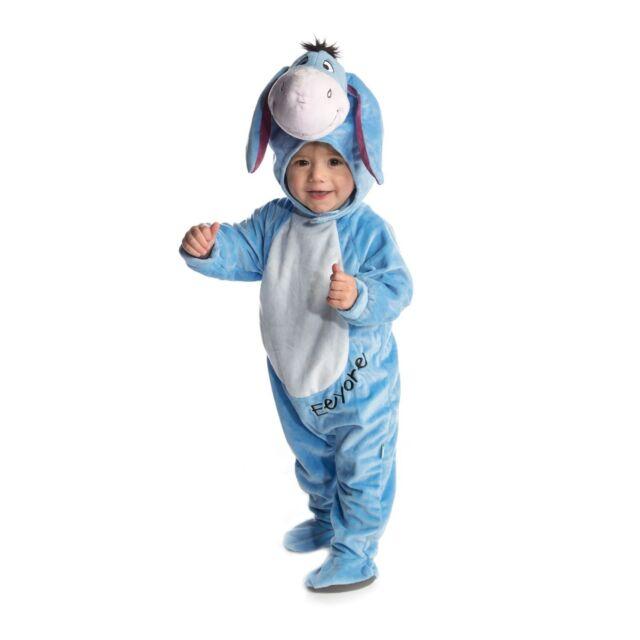 fa38377e2842 Fancy Dress Costume ~ Disney Winnie The Pooh Deluxe Eeyore Age 3-24 Months