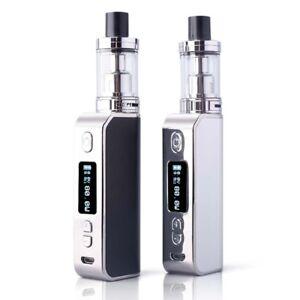 Electronic-E-cig-cigarette-80W-2200mAh-Box-Mod-Starter-Kit-Pen-Vape-Shisha-Steel