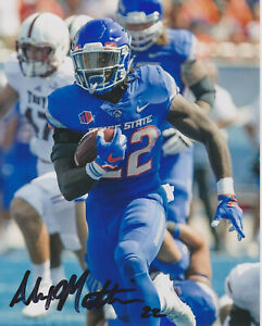 new product 81301 37a24 Details about ALEXANDER MATTISON Boise State Broncos SIGNED 8X10 Photo  MINNESOTA VIKINGS