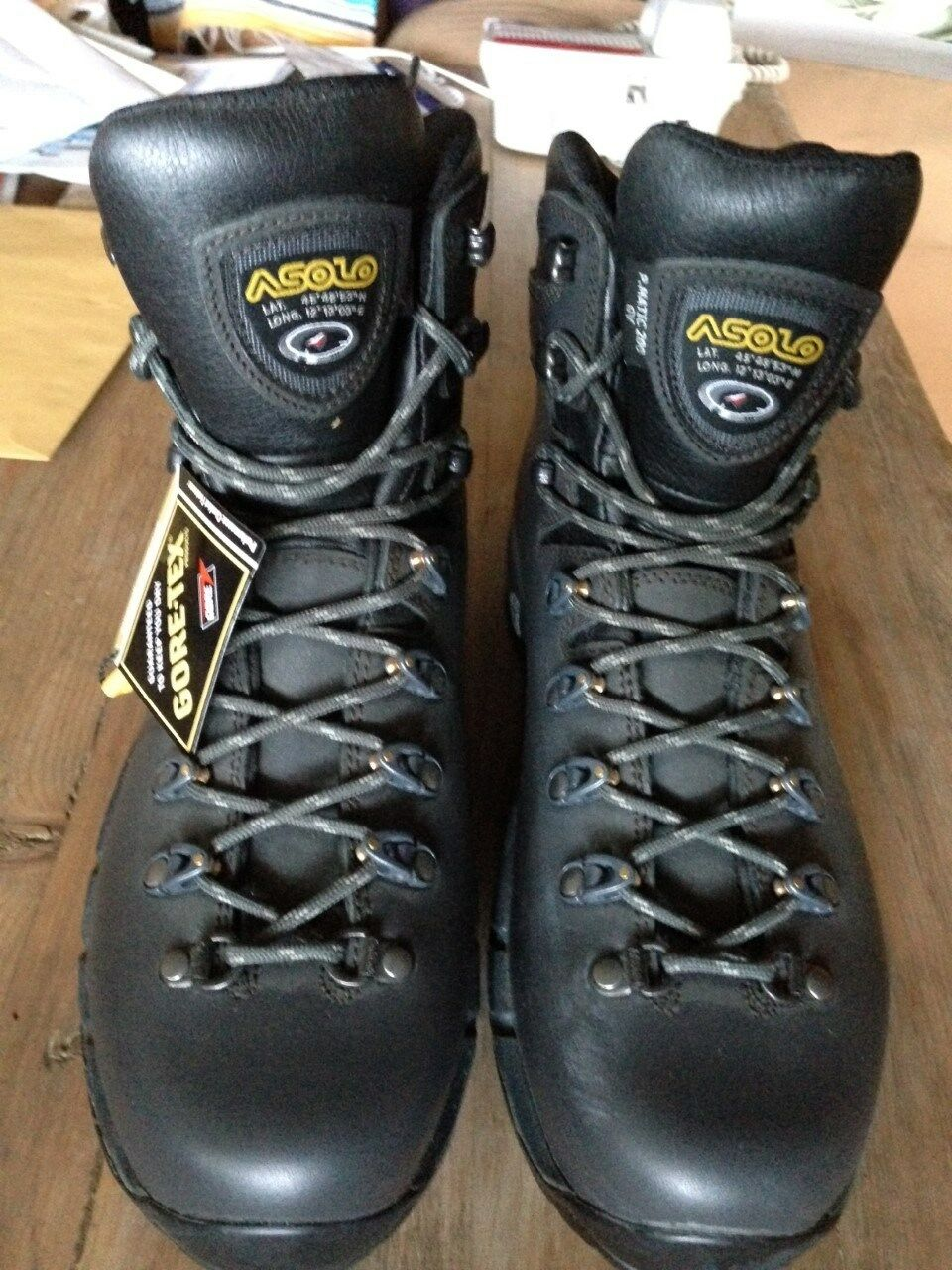 Asolo Mens Power Matic 200 GV Waterproof Gore-Tex Hiking Boots Size 10.5