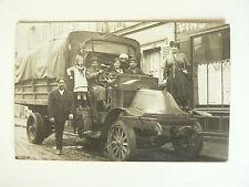 Belle Carte photo ancienne  Camion    Années 10   brochure  catalogue prospectus