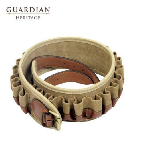 Guardian Heritage Cartridge Belt 12G Brown Brown