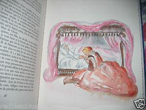 034-Princesse-de-Cleves-034-Madame-de-Lafayette-Aquarelles-Original-Minache-1972-1-80