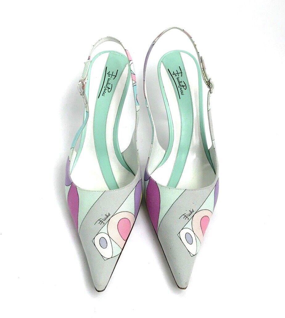 Emilio Pucci Pucci Pucci Size 40 Heels 93a357