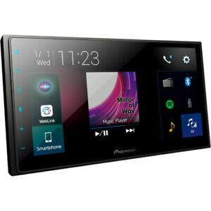 """Pioneer DMH-Z5350BT 6.8"""" 2 DIN Capacitive Touch-Screen Multimedia Player - Black"""