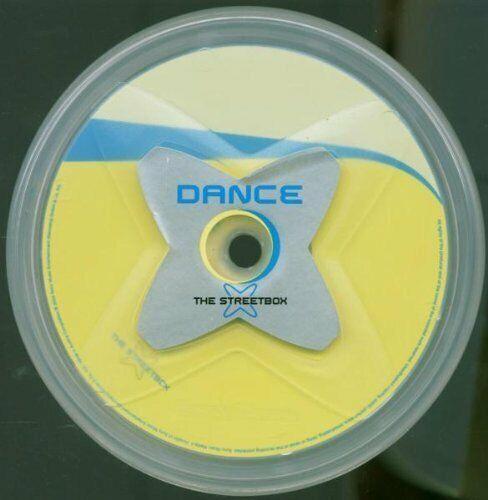 Streetbox Dance (2003, transparent round case) Tiga, Kosheen, Kid Alex, P.. [CD]