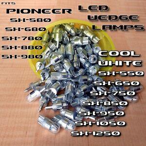 3-COOL-WHITE-8v-LED-WEDGE-LAMP-SX680-SX780-SX-880-SX-980-750-550-650-RECEIVER