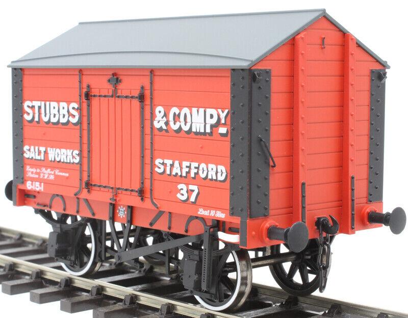 Dapol Gauge O,7F018002, Coverosso Salt Van, 'Stubbs & Co' Stafford