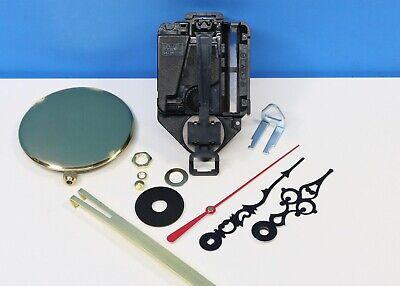 """Takane Clock Movement Quartz Battery NEW Short Shaft 1//4/"""" Thick Dial SPADE HANDS"""