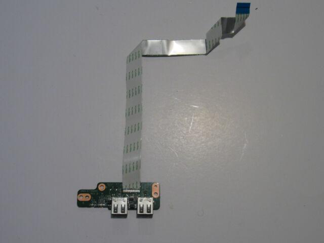 HP Pavilion DV7-4000 USB Port Board With Cable DA0LX7TB4D0 OEM Original