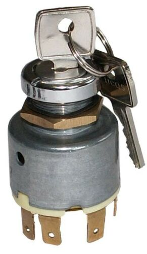 61208 Massey Ferguson Ignition Key Switch 20D Lucas PACK OF 1
