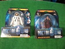 Underground Toys Doctor Who The Astronaut & Francesco the Vampire Figures (New)