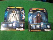 Underground Toys Doctor Who The Astronaut & Francesco the Vampire Figures (New)