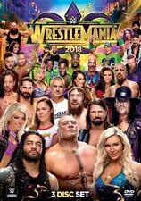 WWE Wrestlemania 2018 Kurt Angle Sports DVD