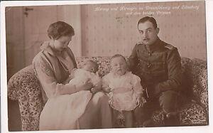 Vintage-Postcard-Duke-amp-Duchess-of-Brunswick-Prince-amp-Princess-of-Hanover