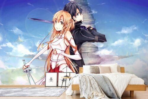 3D Sword Art Online M250 Japan Anime Spiel Tapete Wandgemälde Cosplay An