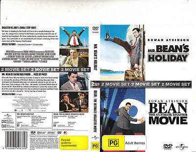 Mr Bean S Holiday 2007 Bean The Ultimate Disaster Movie Rowan Atkinson 2 Dvd Ebay