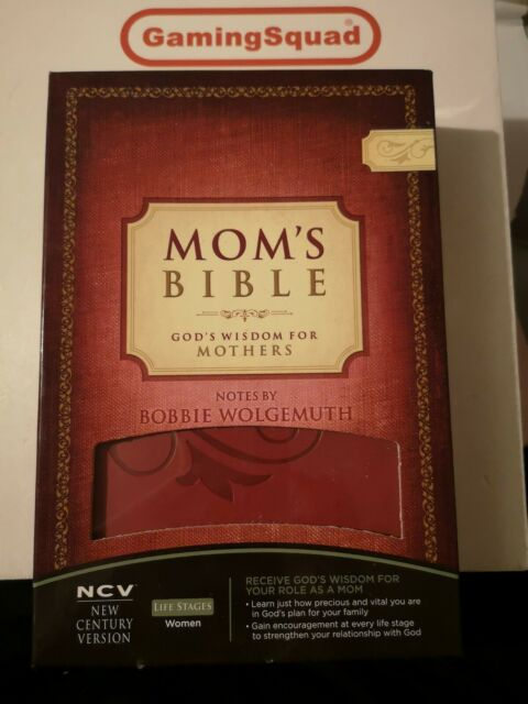 Mom's Bible, Bobbie Wolgemuth HB Book, Supplied by Gaming Squad