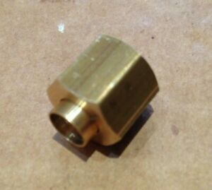 """Solder Olive/Nipple and Gland Nut for Copper Pipe 1/8"""" BSP x 1/4"""" Tube"""