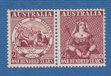 Australia 1950 stamps francobollo strip striscia MNH**og gomma integra