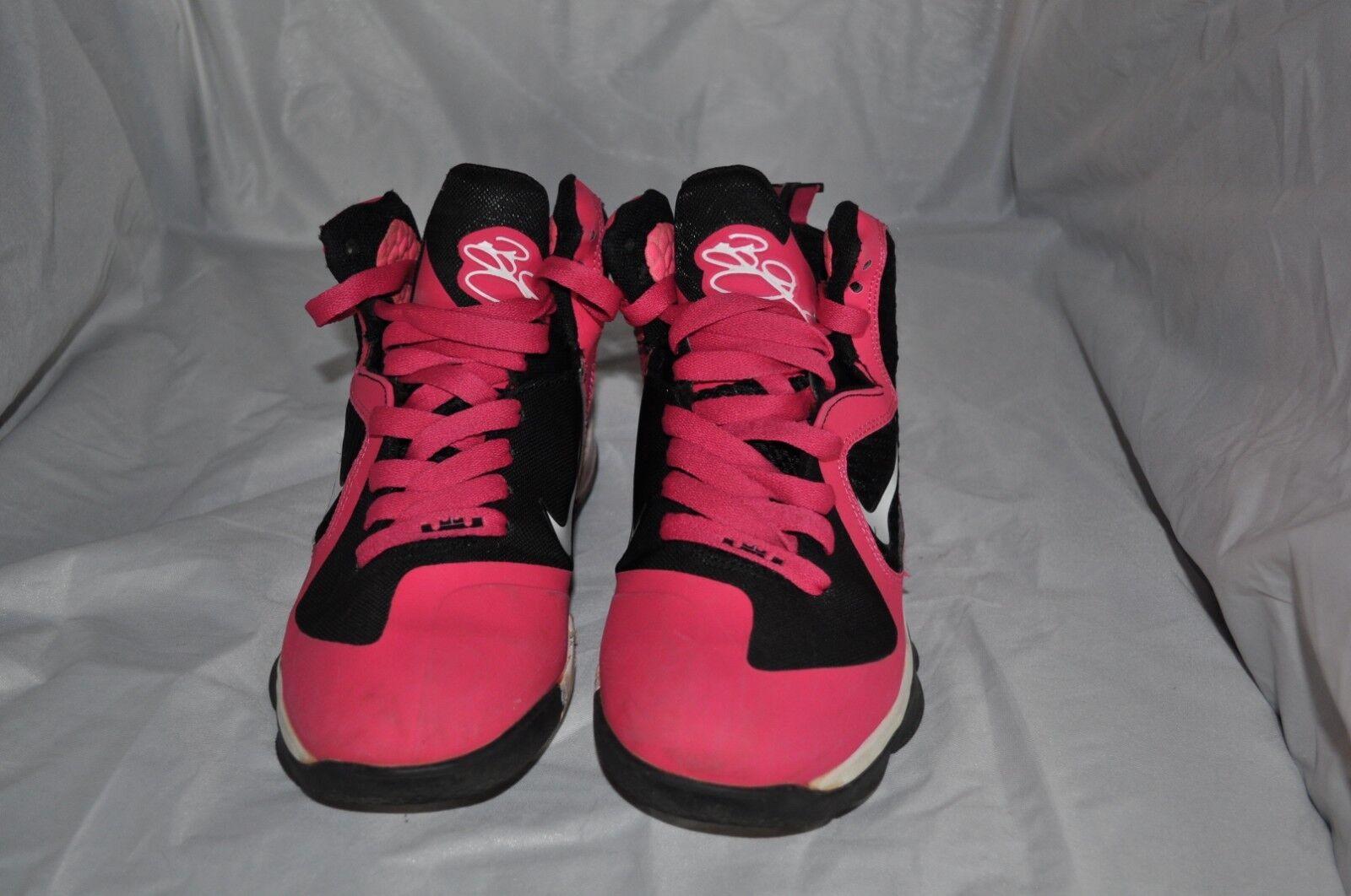 Nike Air Max Zoom Lebron Lebron Zoom 9 Sneaker Gr 38 Farbe neon pink/schwarz/weiss e6cefa