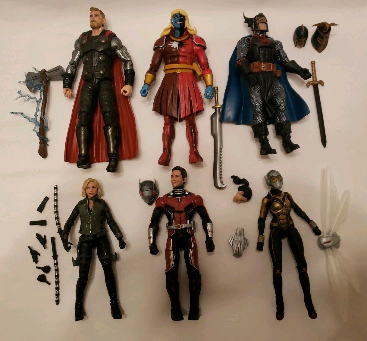 Marvel Legends BAF Cull Obsidian  Complete set of 6 Avengers Infinity War  abordable