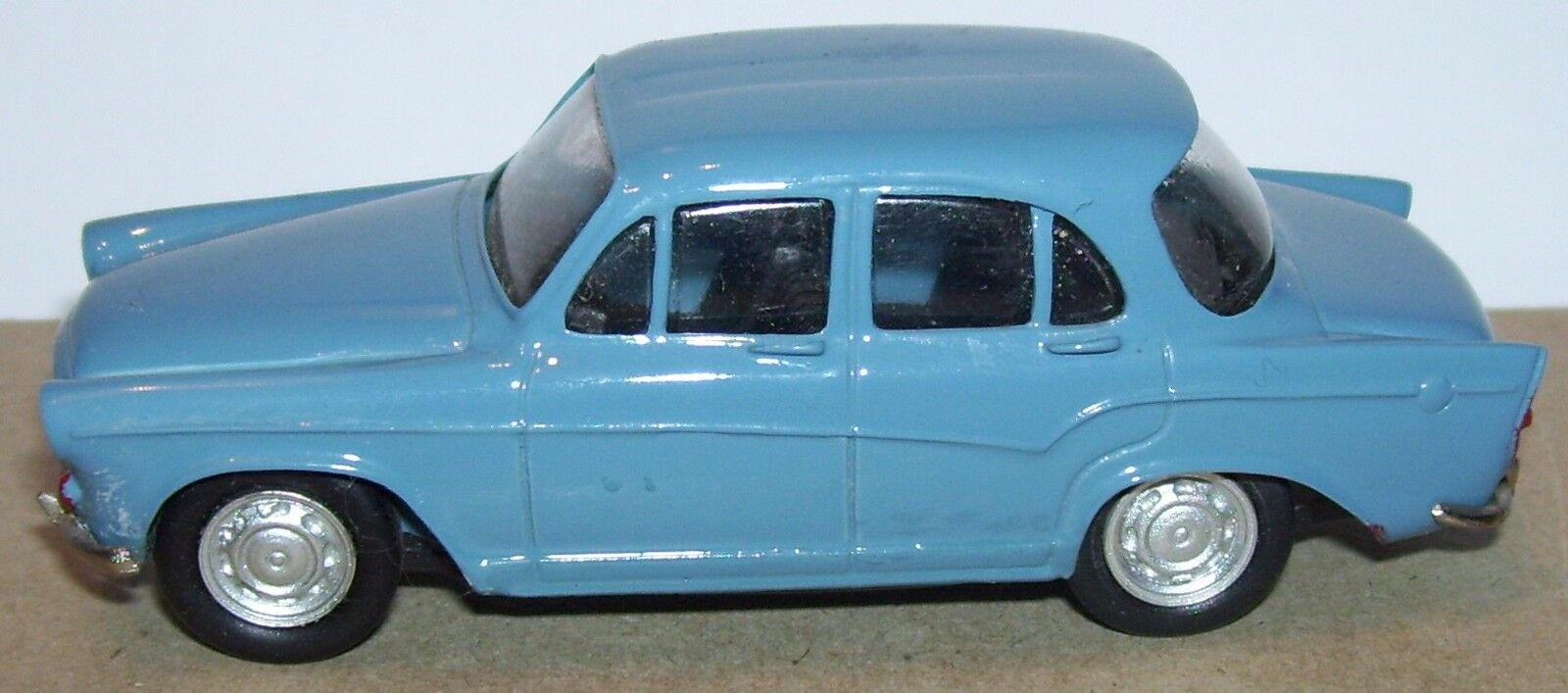 DUVI KIT RESIN RESIN RESIN MOUNTED MADE IN FRANCE SIMCA ARONDE P60 blueE 1 43 BOX NO. fd9736