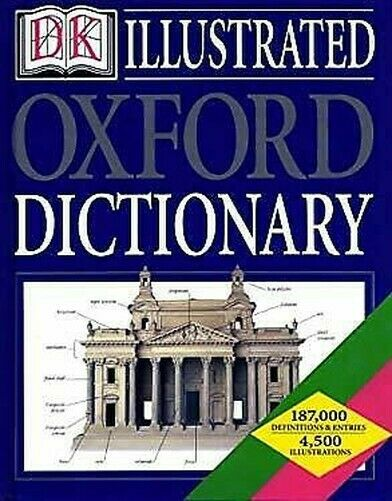 Illustrierte Oxford Dictionary Hardcover Oxford