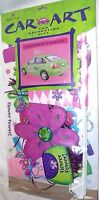 Car Decorating Kit Flower Power Auto Flag Magnet Window Decorations