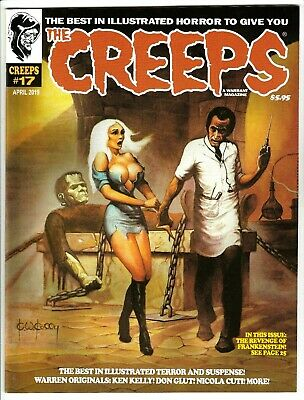 UNREAD WARRANT PUBS FRANK FRAZETTA COVER CREEPS MAGAZINE #3 FALL 2015 NM 9.4