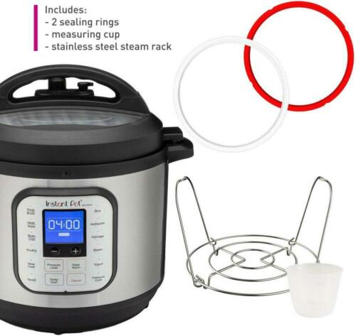 Instant Pot® Duo™ Nova™ 8-Quart 7-in-1 One-Touch 8-QT Stainless Steel//Black
