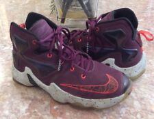 item 4 Nike Lebron 13 XIII Kid s Burgundy Basketball Shoes Size 5.5Y   808709-500 EUC -Nike Lebron 13 XIII Kid s Burgundy Basketball Shoes Size  5.5Y ... 0a8c970329