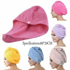 Hair Direr Cap Rapid Fast Quick Dry Hair Towel Soft Thick Absorbent Shower Hat