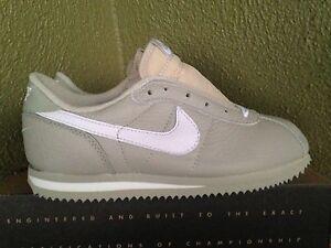 pick up 7d225 85e9d Details about Vintage 90's Nike Leather Cortez SC Sz. 6 Collectible NOS  Supreme Rare Gry/White