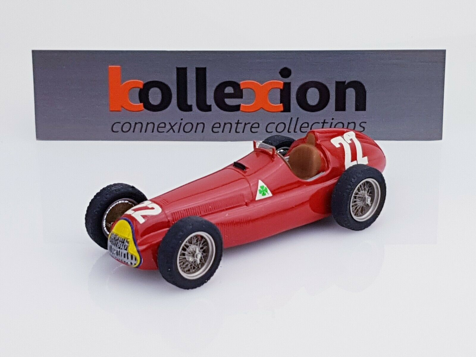 STARTER ALFA ROMEO 159 n°22 1951 Champion du Monde JM. Fangio 1.43