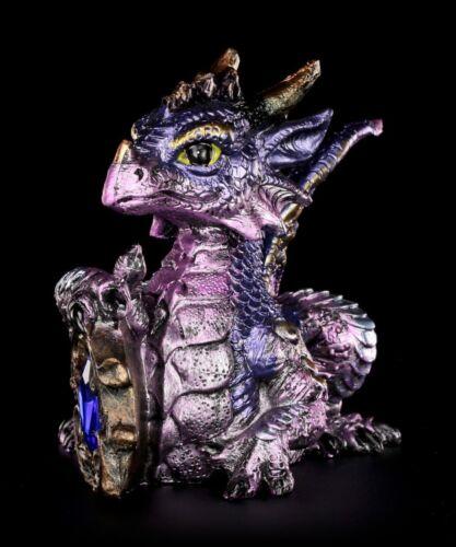 Fantasy Baby Gothic Deko Tyrian mit Diamant Drachen Figur