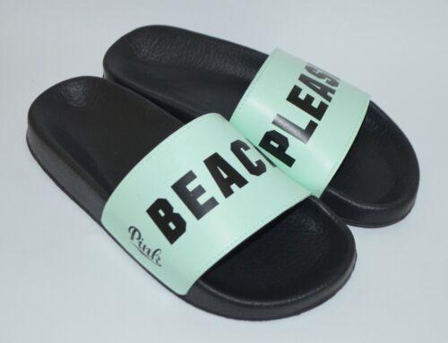 Pink Flops Ny 667543964161 Slides Victoria's Sandals 5 6 Secret Mint Small Vennligst Beach Flip qqEf8r