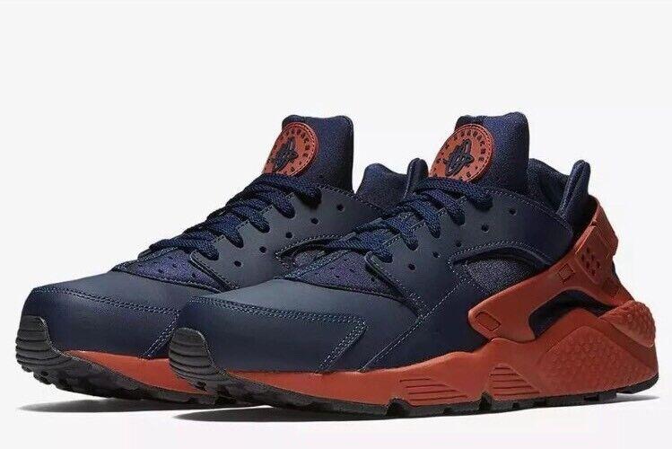 NWT Mens Nike Air Huarache Running shoes -  blueee -  318429-417 - SZ-9.5