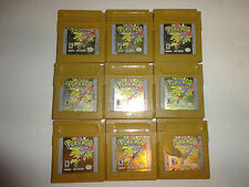 original autethic Pokemon: Gold Version (Nintendo Game Boy Color, NEW SAVE BATTE