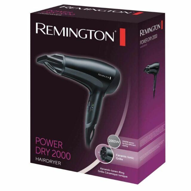 Remington Powerdry Sèche Cheveux 2000w Beauté Style Séchoir