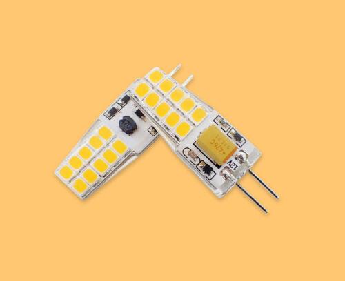 2x WarmWeiß GY6,35//G6.35 LED SMD Sparlampe Leuchtmittel Birne 4W Lampe 12V DHL