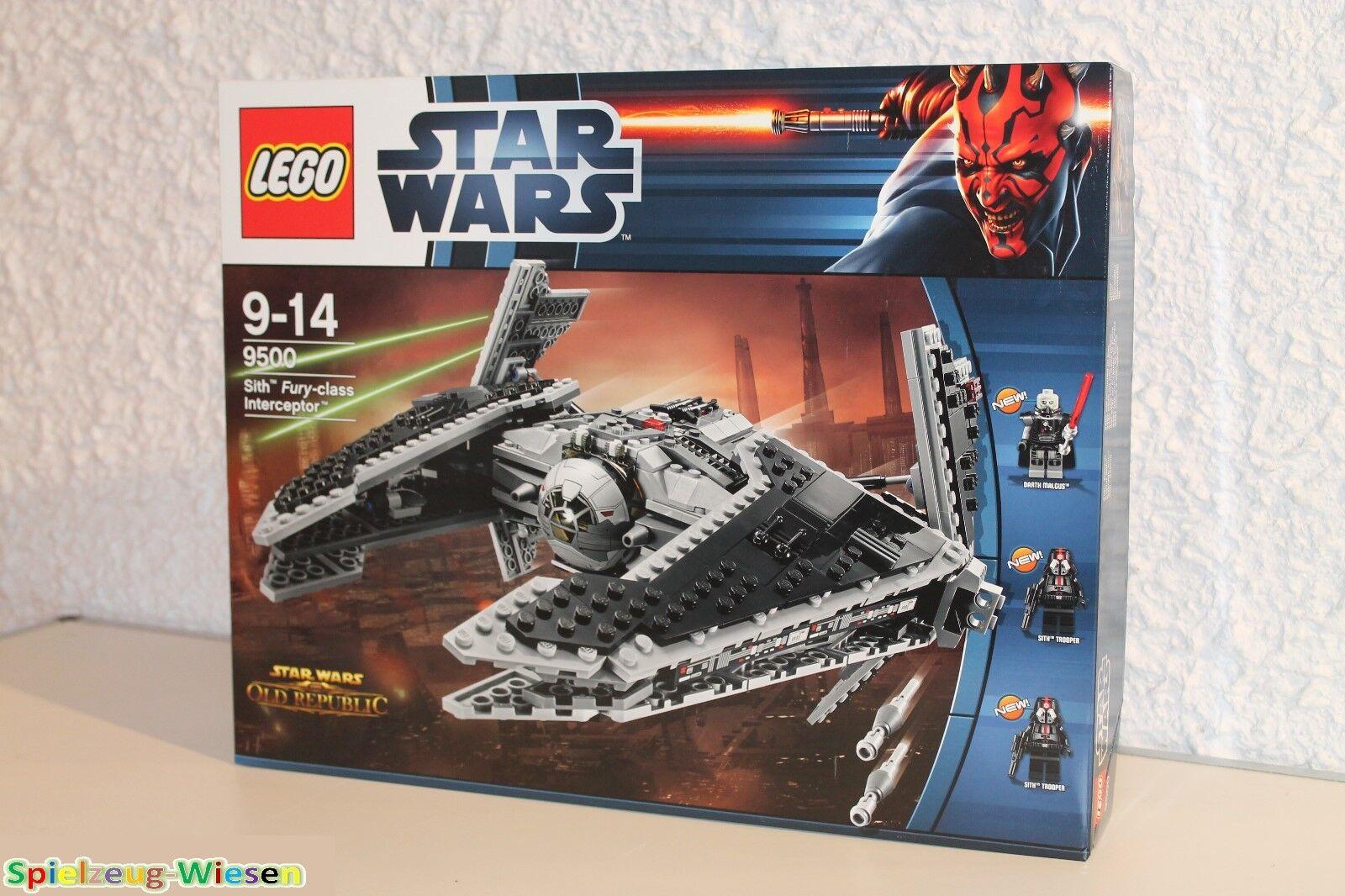 LEGO® STAR WARS™ 9500 Sith™ Fury-class Interceptor™ - NEU & OVP -