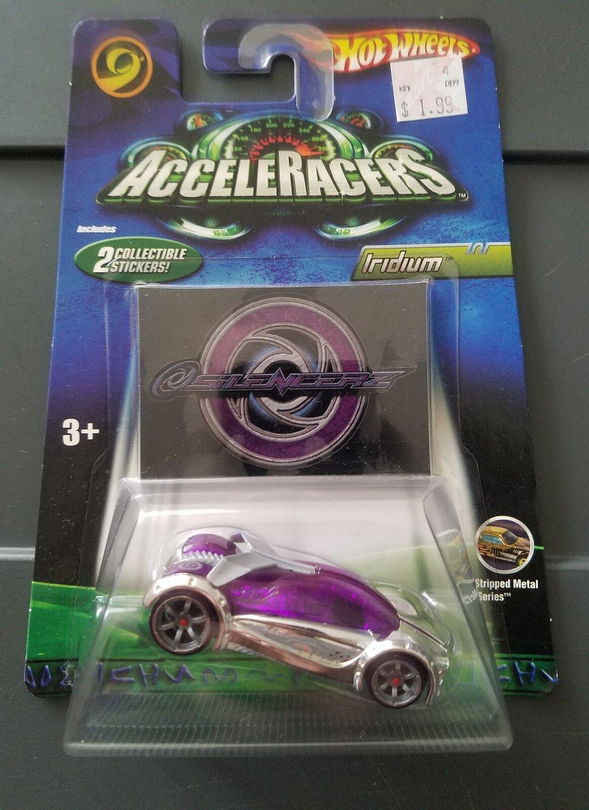 Hot Wheels AcceleRacers Silencerz Iridium