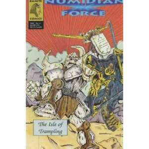 Numidian Force #2 in Near Mint minus condition. [*4e]